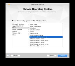 VMware Install - Kernel