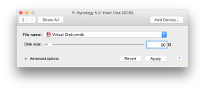 VMware Install - Hard Drive