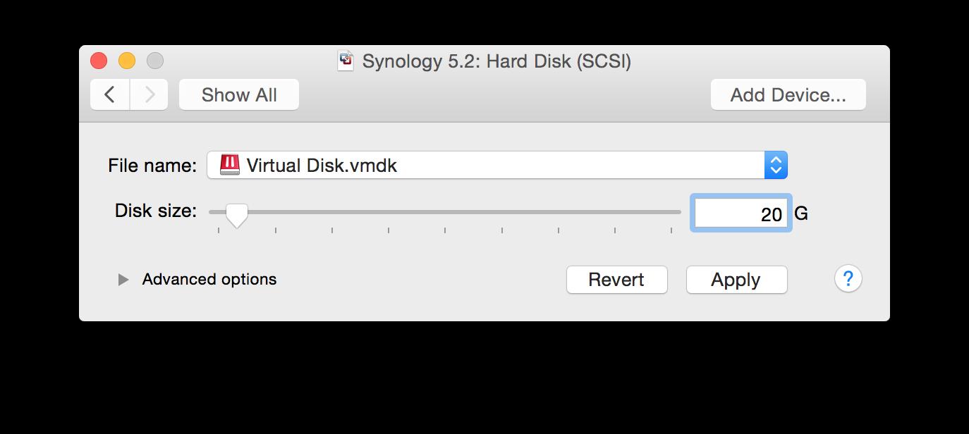 Synology Virtual Machine – VMware – Evan Laske